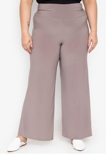 Curvy brown Ezmae Pants CU774AA19ETSPH_1