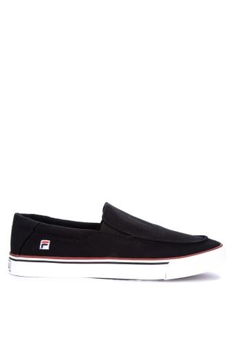 Fila black Fv Border Sneakers FE5E8SH23F7CC5GS_1