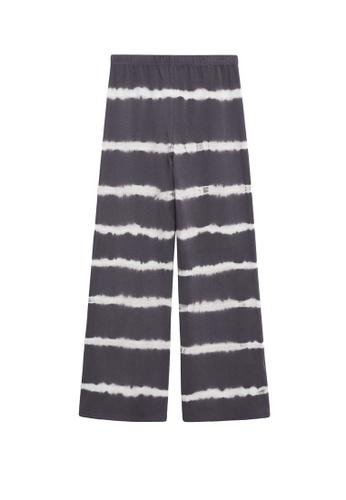 MANGO KIDS grey Tie-Dye Cotton Trousers E4702KA35D8790GS_1