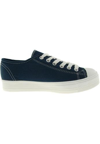 Maxstar navy Maxstar Women's C1-1 6 Holes Canvas Low Top Casual Sneakers US Women Size MA164SH85PYSSG_1