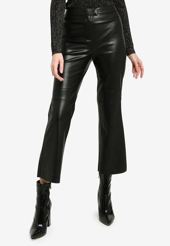 Pepe Jeans black Pepi PU Cropped Pants 69BF5AAA8467F4GS_1