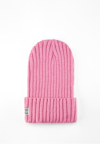 Life8 pink Men and Women Knitted Retro Beanies-Pink【05308】 107CDACCC1D12BGS_1