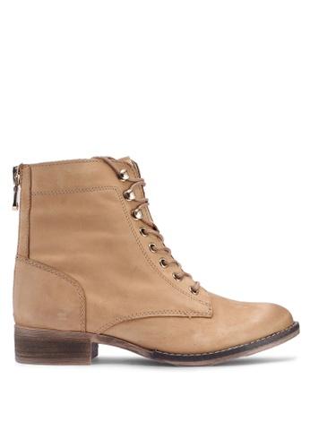 ALDO 褐色 綁帶踝靴 83FCDSH7EDBD83GS_1