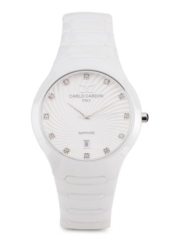 Carlo Cardini white Carlo Cardini Watch 9102LC-WHT-1 CA038AC97IZEMY_1