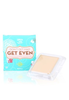 Don't Get Mad, Get Even Hydrating Powder Foundation Refill in Natural Beige