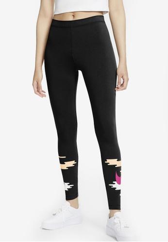 Nike black Women's Sportswear Leggings 21EB8AA64165C6GS_1