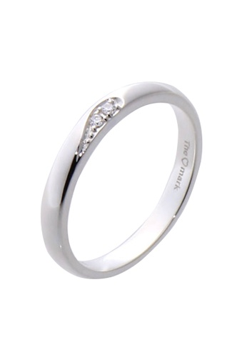 The LoveMark silver Love Concept Ring with Artificial Diamonds for Men lr0018m TH516AC75VAQPH_1