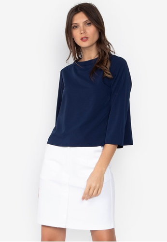 b513253dd32 Shop ForMe Boat Neck Blouse Online on ZALORA Philippines