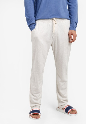 Abercrombie & Fitch grey Classic Lounge Long Pants AB423AA02IQBMY_1