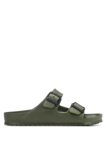 Birkenstock green Arizona EVA Sandals BI090SH0RTJ0MY_1