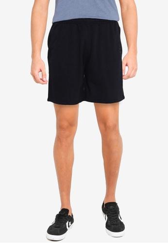 Abercrombie & Fitch black Heat Weld Trend Logo Shorts 0B989AA374CBD6GS_1