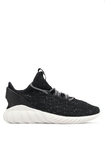adidas black adidas originals tubular doom sock pk AD372SH0SJMYMY_1