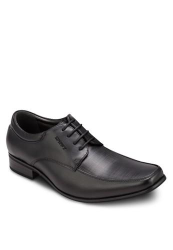 方頭商務皮鞋,esprit專櫃 鞋, 鞋