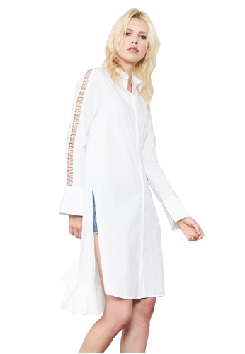 N12H white Highway Shirt Dress N1377AA0GQJISG_1