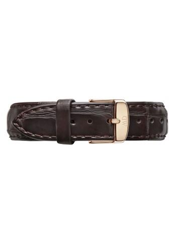 Classic York-Strap Rose gold 18mm, 錶類esprit 童裝, 皮革錶帶