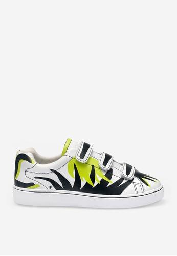 ASH multi Pharell Flame - White Print Sneakers 5DA8BSHB5E3B93GS_1