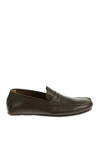 Sebago brown Tirso Penny Driving Shoes SE328SH12OWHPH_1