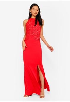 5b8cbdf4353 20% OFF Lipsy Artwork Fishtail Maxi Dress RM 569.00 NOW RM 454.90 Sizes 6 8  10 12