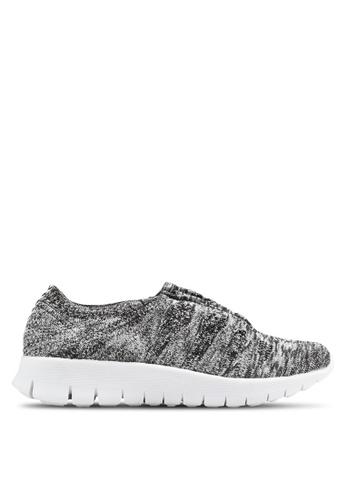 F-KNIT multi Ladies Slip-On Classic Sneaker FK273SH95XHKHK_1