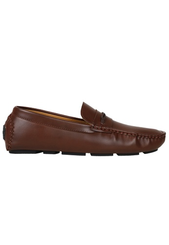 Tomaz brown Tomaz C355 Front Braided Penny Loafers (Brown) A7B46SH38EF42AGS_1