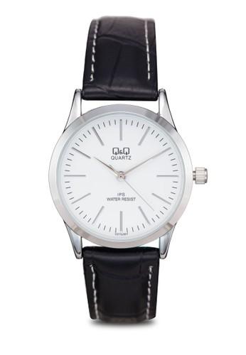 Q&Q C213J301Y 經典仿皮手esprit台灣官網錶, 錶類