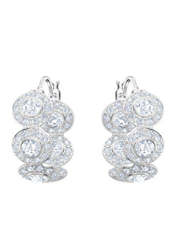 Swarovski silver Angelic Hoop Pierced Earrings C2261AC106F536GS_1