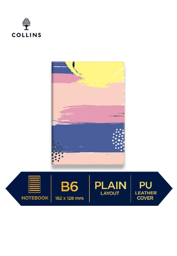 Collins yellow Collins Palette   ─  Notebook B6 Plain Yellow FFE1EHLFBC8DDAGS_1