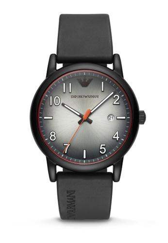 ARMANI black Luigi Analog Watch AR11176 D75CDAC4C44494GS_1