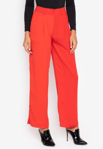 the___edit red Amalia Trousers 5B32BAAD986AD0GS_1