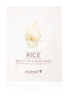Beauty In A Food Mask Sheet, Rice