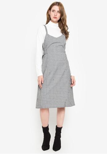 Susto The Label multi Elly Plaid Dress 7345BAA9389C14GS_1