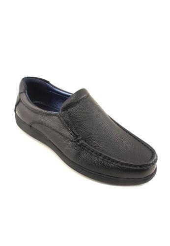 Hanson Bootmaker black Hanson Bootmaker Slip On Casual HA656SH02RXDSG_1