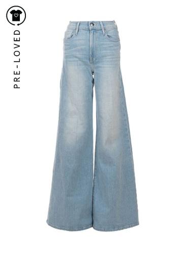 Frame Denim blue Pre-Loved frame denim La Palazzo Light Denim Flared Jeans 0609AAA07C4D6DGS_1