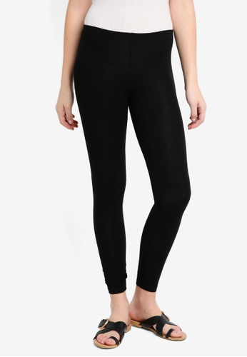 ZALORA BASICS black Basic Leggings C1CFEAA0D5F93EGS_1