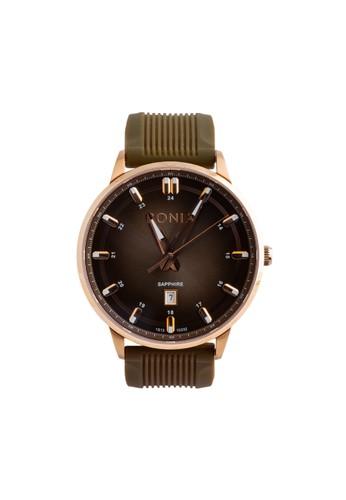 BONIA brown Bonia B10332-1542 - Jam Tangan Pria - Brown Rosegold 30A80ACF3AEAB5GS_1