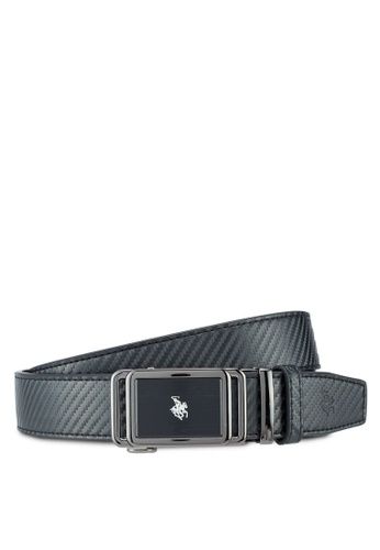 Swiss Polo black 35mm Automatic Belt 31883ACBC0CAFEGS_1