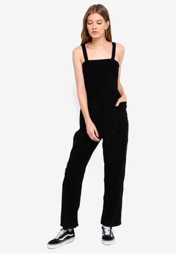 Cotton On black Pinafore Jumpsuit D0E7AAA7CBF811GS_1