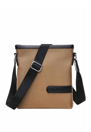 Stylebox brown Faroky WLD-0298 Polyester Messenger/Sling Bag ST148AC73FYCPH_1