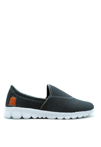 CDE grey Sepatu Slip-on Wanita Super Nyaman Flat SHoes 90BF7SHAD3C5BEGS_1