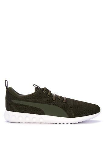 Puma green Carson 2 Training Shoes 1AF44SHE3756E6GS_1