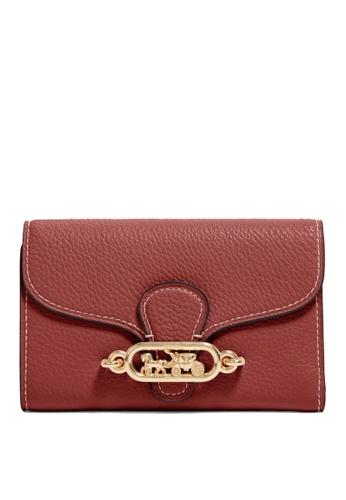 Coach red Jade Medium Envelope Wallet (cv) 87228ACC6888E3GS_1