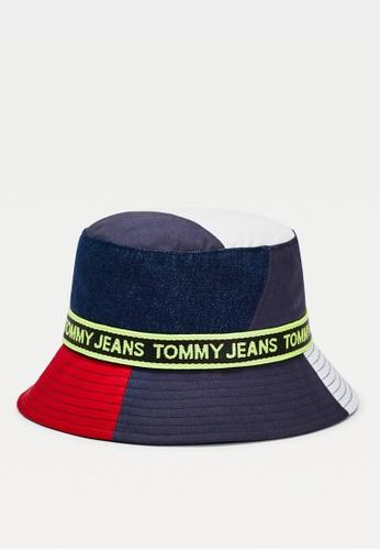 Tommy Hilfiger multi TJM Logo Tape Bucket Hat D0F87AC5F18EB6GS_1