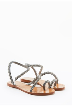 PAZZION Crystallic Sandals RM 299.00. Sizes 35 37 39