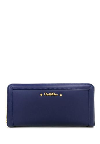 Carlo Rino blue Carlo Rino 0303839-501-13 Zip around long wallet CA220AC0RF5NMY_1