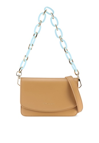 Milliot & Co. brown Stella Sling Bag 75DF6ACB0EB4A8GS_1