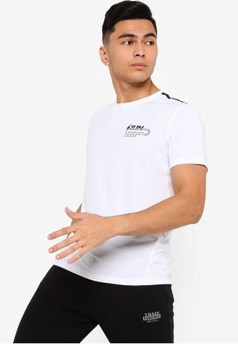 361° white Running Series Short Sleeve T-Shirt E1F87AAAFE613CGS_1
