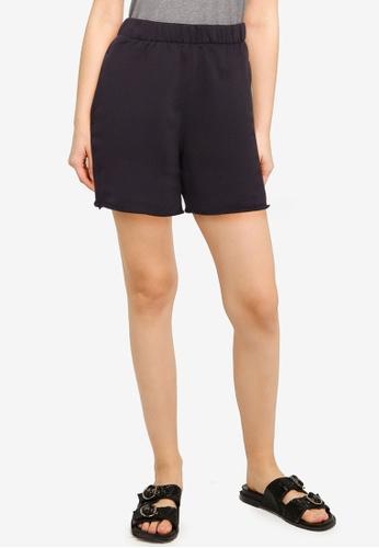 Hollister grey Knit Shorts 16302AA9FC1106GS_1