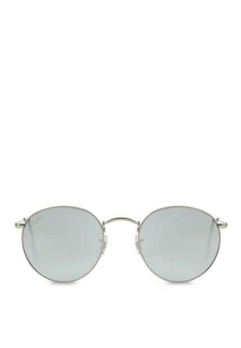 ray ban round sunglasses malaysia  ray ban grey round flash lenses sunglasses ra370gl07sbosg_1