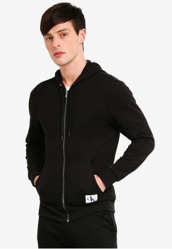 Calvin Klein 黑色 休閒連帽外套 522D5AAB7214DCGS_1