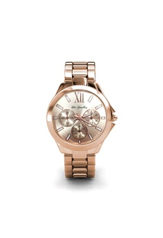 c48ad421a Her Jewellery gold Rechteck Metallic Watch (Rose Gold) 9B3AAACB0D2031GS_1